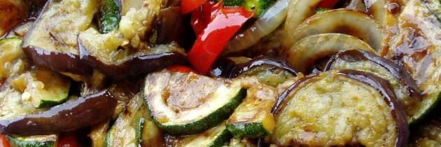 Dieta Vegetais Grelhados