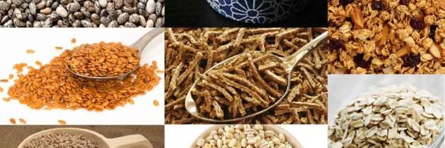 A importância dos Cereais no Organismo