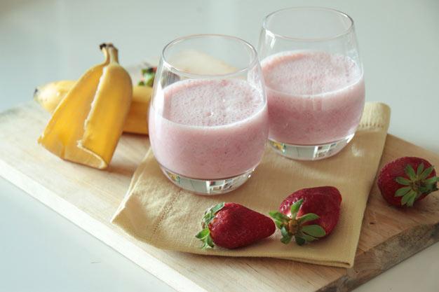 Iogurte-Batido-com-Morangos